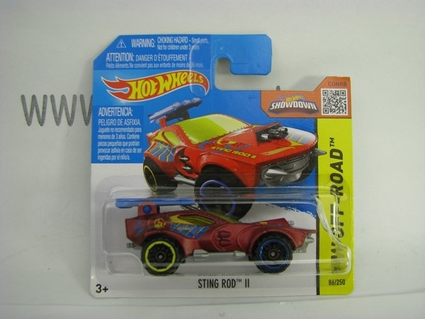 Hot Wheels 2015 Sting Rod II HW Off-Road CFJ30